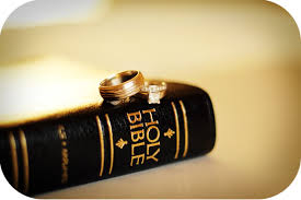 Bible with rings